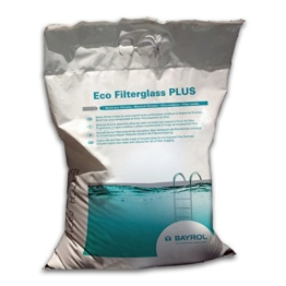 25 Kg Eco Glas Filter Medium Grad 2 - 1,0 -3,0mm Körnung -