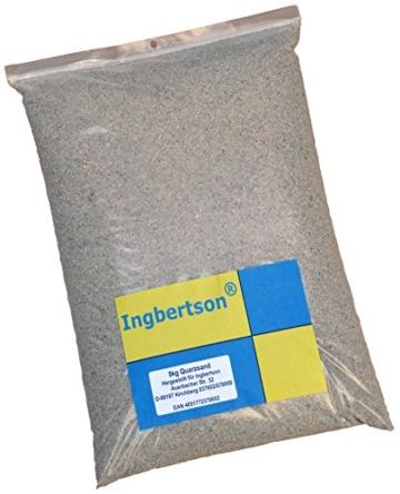 5kg Ingbertson® Quarzsand 0,4-0,8 mm Filtersand Poolsand -