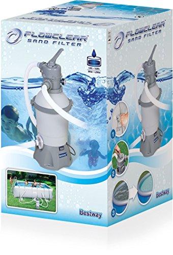 Bestway Flowclear Sandfilterpumpe 2.006 l/h -