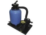 Filteranlage Set 500 mit Filterbehälter 500 mm komplett, Pumpe Aqua Plus 8 -