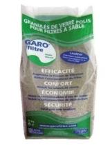Filterglas 0,5 - 1,0 mm - Hochwertiges Pool Filtermedium im 25 kg Sack -