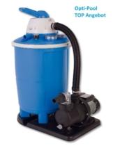 """FLOW 7 Sandfilteranlage 7,0 m³/Std. (FLOW7 Sandfilter - 1050 SF) - ACHTUNG: Sie erhalten eine Filteranlage """"Made in Europe"""" - nicht den fast identisch aussehenden Intex Filter aus China!!! -"""