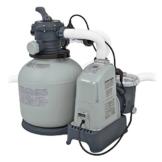 Intex 28676 Krystal Clear Sandfilteranlage 6 m³, Salzwassersystem -