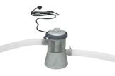 Intex Filterpumpe 12V,  grau, 1,250 Liter/Stunde -