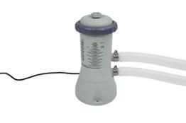 Intex Filterpumpe 12V,  grau, 3,406 Liter/Stunde -