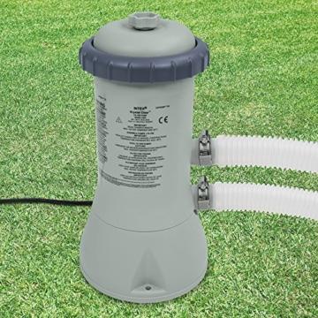 Intex Kartuschenfilteranlage, Typ ECO 3800, grau, 3,785 l/h / 99 W / 230 V -