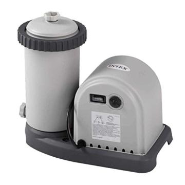 Intex Kartuschenfilteranlage, Typ OPTIMO 5700, grau, 5,678 l/h / 165 W / 230 V -