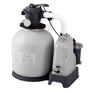 Pool Filteranlagen Intex Sandfilteranlage Krystal Clear 10 m³ & Salzwassersystem