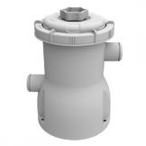 Jilong Pool Filter-Pumpe 300 gallon, Kartuschenfilteranlage mit 1136 L/h Pumpvolumen, grau, 16 x 16 x 23 cm, 29P414DE -