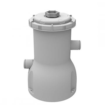Jilong Pool Filter-Pumpe 530 gallon, Kartuschenfilteranlage mit 2006 L/h Pumpvolumen, grau, 19 x 19 x 27 cm, 29P415DE -