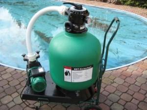 Pool Filteranlagen Hst Sicherheitstechnik - Leis Poolfilter 14m³h
