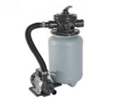 MY POOL Sandfilteranlage 250-35 3,5m3/h Kunststoffkessel für Pools bis 24 Kubikmeter Inhalt -