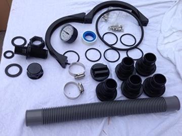 Ersatzteile HST Profi Leis Sandfilteranlage 8 m ³ Sandfilter Pumpe 250 W Poolfilter Filter 25kg -