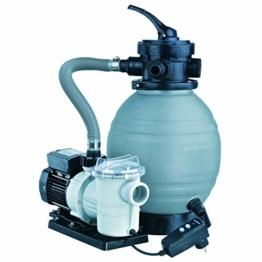 Pool Filteranlagen Ubbink - Sandfilterset 300 - 2,5 m³, Sandfilter mit Pumpe TP25 -