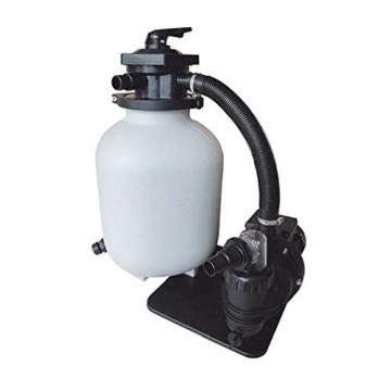 Sandfilter 550W Sandfilteranlage Pumpleistung 10 m³/h Filteranlage Poolfilter -