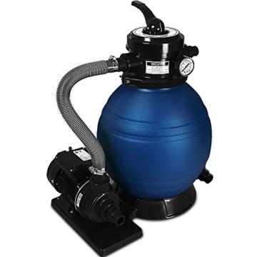 Sandfilter Sandfilteranlage 10 m³/h - Poolfilter Filteranlagen Deuba