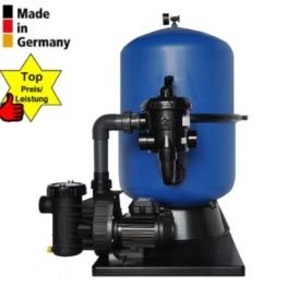 Sandfilteranlage Duraol® Side-Mount Pacific Ø 400mm mit Aqua Plus 6 m³/h -
