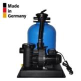 Sandfilteranlage PoolsBest BL Ø 400mm mit Aqua Plus 8 m³/h -