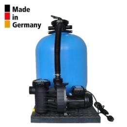 Sandfilteranlage PoolsBest BL Ø 500mm mit Aqua Plus 11 m³/h -