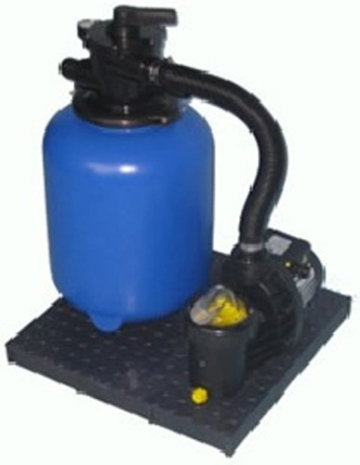 Sandfilteranlage TOP MOUNT 500 mit Aqua Technix Pumpe -