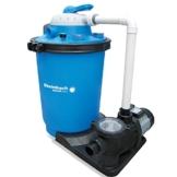 Speedclean Premium Hybrid Sandfilteranlage für Pool bis 61m³ Sandfilter Filter Filterkessel -