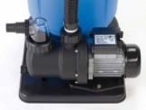 Steinbach Sandfilteranlagenzubehör Filterpumpe SPS75-1, Schwarz, 142 l/min / 450 W / 230 V -
