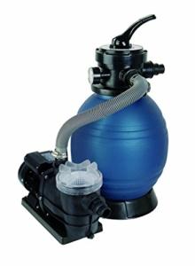 Pool Filteranlagen T.I.P. Schwimmbad Filter Set Sandfilteranlage SPF 250 F, bis 6.000 l/h