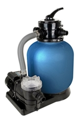 T.I.P. Schwimmbad Filter Set Sandfilteranlage SPF 370 F, bis 7.000 l/h -