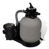 vidaXL Sandfilteranlage Sandfilter Filteranlage mit Poolpumpe 35 cm -