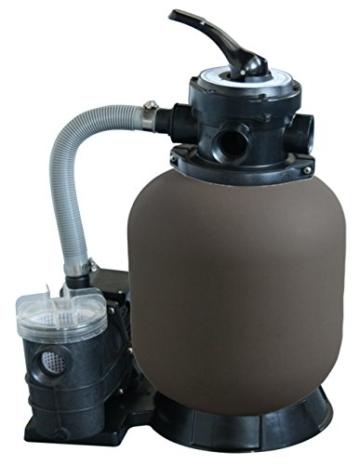 WelaSol® Sandfilteranlage BETA TOP 350/7 mit Pumpe Sand Filter Schwimmbad Pool -